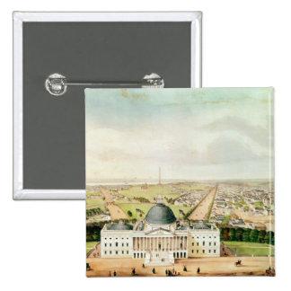 View of Washington Pinback Buttons