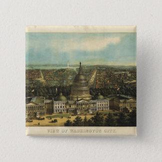 View of Washington City (1871) Button