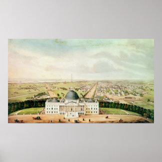 View of Washington Poster