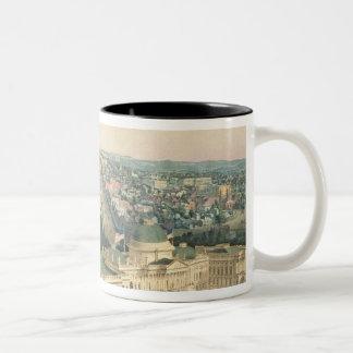 View of Washington, pub. by E. Sachse & Co., 1852 Two-Tone Coffee Mug
