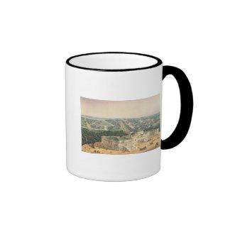 View of Washington, pub. by E. Sachse & Co., 1852 Ringer Coffee Mug