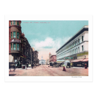 View of Washington StreetOakland, CA Post Card