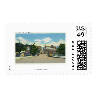 View of Water Street Postage Stamp