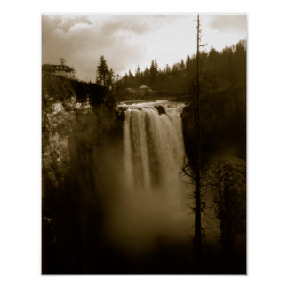 View of Waterfall Poster