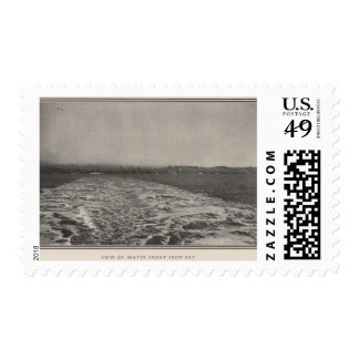 View of waterfront from Bay, San Francisco Postage