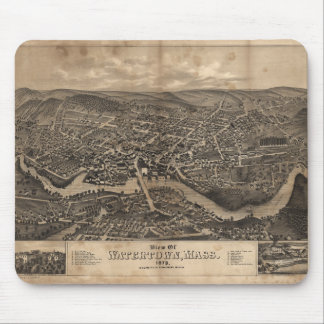 View of Watertown Massachusetts in 1879 Mouse Pad