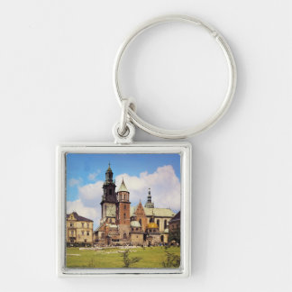View of Wawel Cathedral Keychain