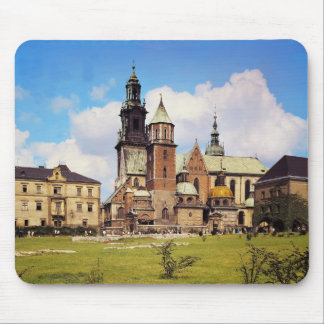 View of Wawel Cathedral Mouse Pad