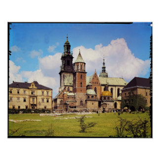 View of Wawel Cathedral Poster