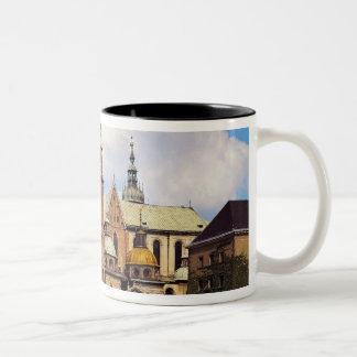 View of Wawel Cathedral Two-Tone Coffee Mug