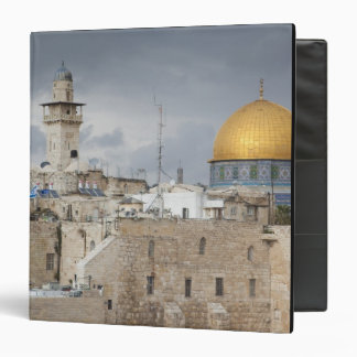 View of Western Wall Plaza, late afternoon 2 3 Ring Binder
