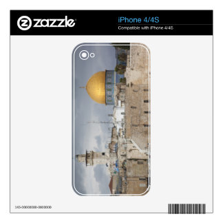 View of Western Wall Plaza, late afternoon 2 Decal For iPhone 4