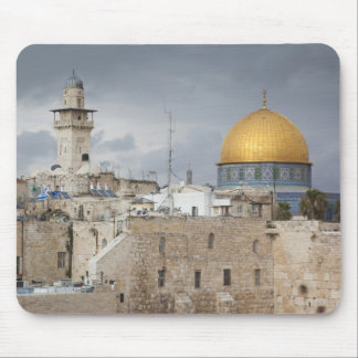 View of Western Wall Plaza, late afternoon 2 Mouse Pad