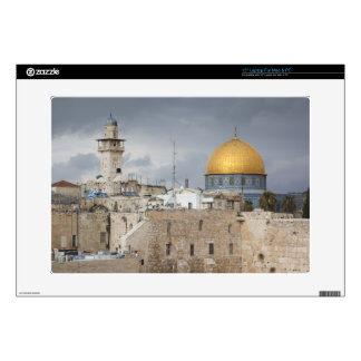 View of Western Wall Plaza, late afternoon 2 Laptop Decals