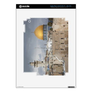 View of Western Wall Plaza, late afternoon 2 iPad 3 Decals