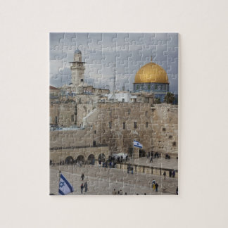View of Western Wall Plaza, late afternoon Jigsaw Puzzles