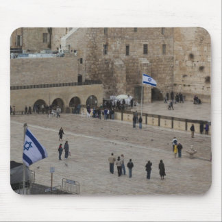 View of Western Wall Plaza, late afternoon Mouse Pad