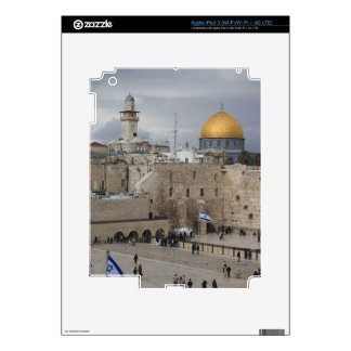 View of Western Wall Plaza, late afternoon iPad 3 Decal