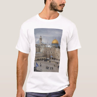 View of Western Wall Plaza, late afternoon T-Shirt
