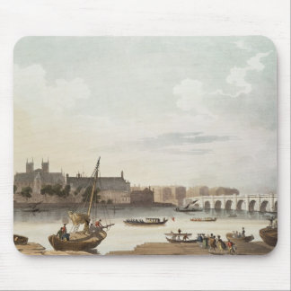 View of Westminster and the Bridge Mouse Pad