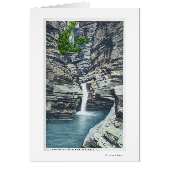 View of Whispering Falls Card