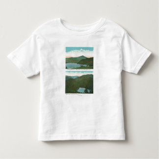 View of Whiteface Mt from Signal Hill, Heart T-shirts