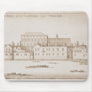 View of Whitehall, 1645 Mouse Pad