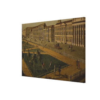 View of Wilhelmsplatz from the north, 1773 Stretched Canvas Print