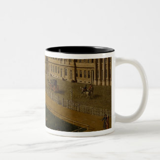 View of Wilhelmsplatz from the north, 1773 Two-Tone Coffee Mug