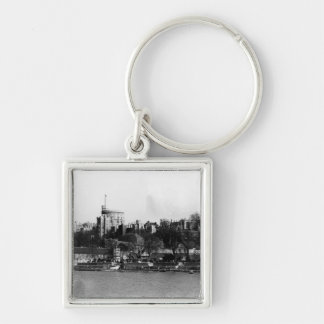 View of Windsor Castle, across the River Thames Keychain