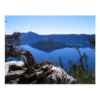 View of Wizard Island Postcard