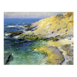 View of Wood's Cove by Guy Rose Postcard