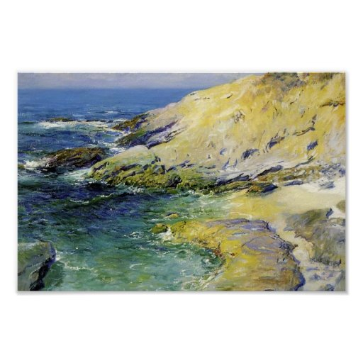 View of Wood's Cove by Guy Rose Posters