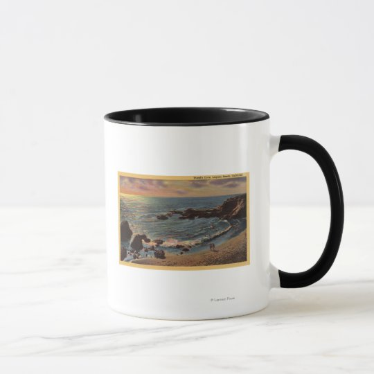 View of Wood's Cove Mug
