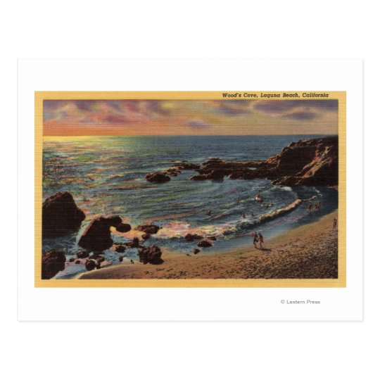 View of Wood's Cove Postcard