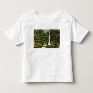 View of World War, Revolutionary War Memorials Toddler T-shirt