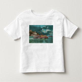 View of Yerba Buena Island Lighthouse at Night Toddler T-shirt