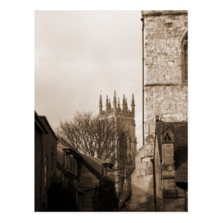 View of York Minster Postcard