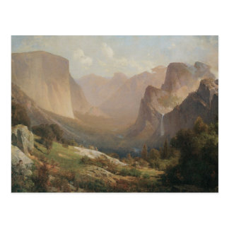 View of Yosemite Valley Postcard