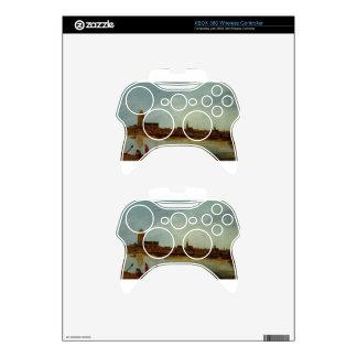 View of Zierikzee by Esaias van de Velde Xbox 360 Controller Decal