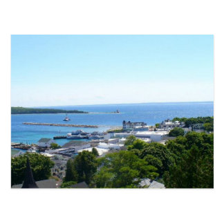 View off Mackinac Island Post Cards