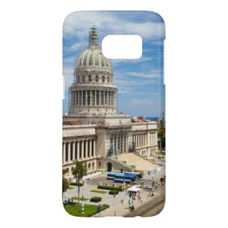 View on a building of Capitol in Havana, Cuba Samsung Galaxy S7 Case