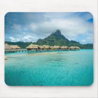View on Bora Bora island mousepad