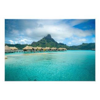 View on Bora Bora island Photo Print