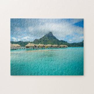 View on Bora Bora island Puzzle