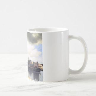 View on Delft by Johannes Vermeer Coffee Mug
