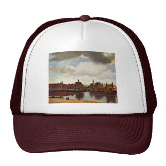 View On Delft The By Johannes Vermeer Best Qual Hat
