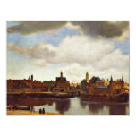 View On Delft, The  By Johannes Vermeer (Best Qual Invites