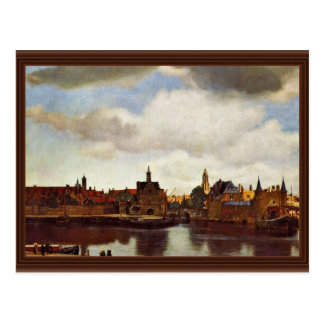 View On Delft, The  By Johannes Vermeer (Best Qual Postcards