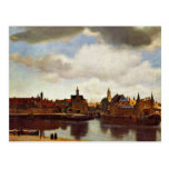 View On Delft, The  By Johannes Vermeer (Best Qual Post Card